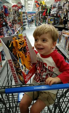 Review - Hasbro Transformers Mega Flip Bumble Bee. We got to pick it out ourselves from Walmart's #ChosenByKids event and become Official Toy Testers! (sponsored)