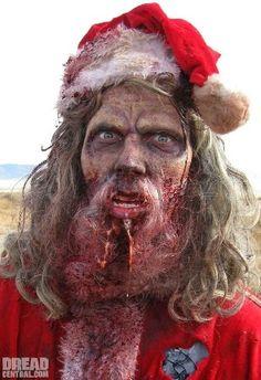 10 Zombie Santas #creepmas