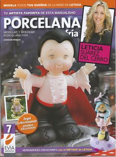 Cold Porcelain Magazine 7 2013 by Leticia Suarez del by AmGiftShoP, $12.99