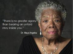Maya Angelou Speaks