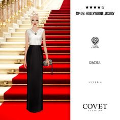 ✨Covet Fashion   Event/Theme: 1940s: Hollywood Luxury✨