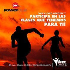 Estás listo para conocer la mejor experiencia #fitness en #Panama @expodeportepanama  del 1ro al 3 de julio en el centro de convenciones Atlapa