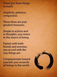 3 Things - Lao Tzu