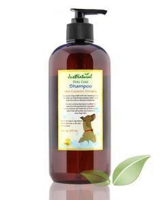 Dog Shampoo Skin Calming Oatmeal Natural Organic Solutions
