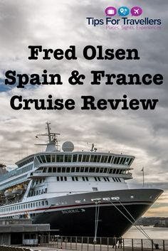 fred-olsen-review-pinterest Cruise Reviews, Southampton, Olsen, Cruises, Picture Video, Spain, France, Places, Movie Posters