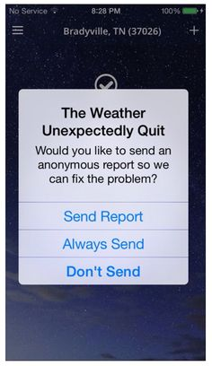 Don't you just hate when weather quits? Lol!