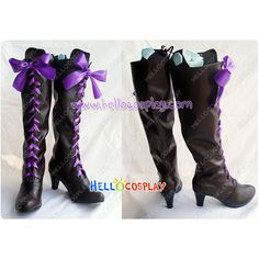 Black Butler Kuroshitsuji II 2 Cosplay Earl Alois Trancy Boots (£51) ❤ liked on Polyvore featuring shoes, boots, cosplay, black shoes, kohl shoes, kohl boots and black boots