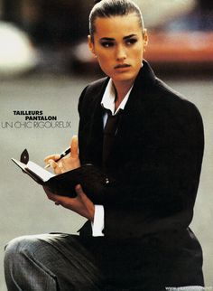 Yasmin Le Bon - Elle France October 1988