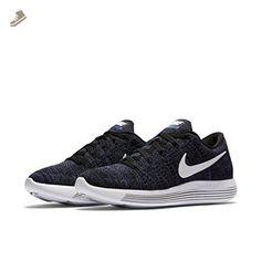 Nike LUNAREPIC LOFLYKNIT womens running-shoes 843765-005_7.5 - BLACK/WHITE-DK PURPLE DUST - Nike sneakers for women (*Amazon Partner-Link)