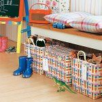 Helping kids organize their rooms