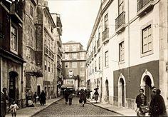 Rua S. João da Praça, Alfama - 1929