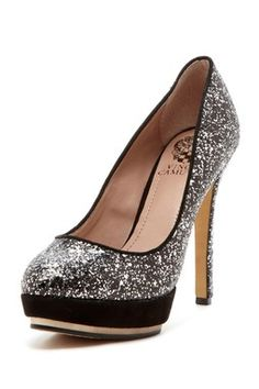 Wedding shoes,  well if you are use to them.  Remember you will stand for 20 min during your ceremony.  If you make your bridesmaids wear high heals there maybe some whining :(( ouch !