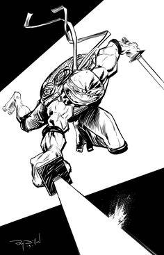 TMNT - Teenage Mutant Ninja Turtles! Comic Book Style!