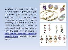 so Sonijewells is best online artificial jewellery store in Delhi. Available in Karol bagh. http://sonijewells.in