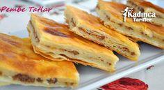 Kıymalı Tandır Böreği Tarifi Hot Dog Buns, Hot Dogs, Salsa, French Toast, Bread, Breakfast, Food, Pizza, Reception