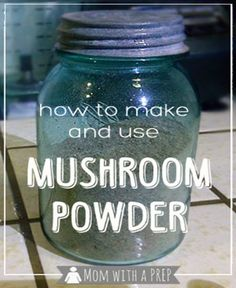 """Use mushroom powder in an unexpected variety of recipes to get that rich, """"meaty"""" flavor and to enhance many of your favorite dishes."""