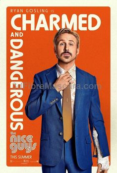 The Nice Guys (2016) by Shane Black. Gosling and Crowe are the perfect duo for this 70s style buddy comedy drama. Their chemistry is genius, the script is laugh out loud and the action sequences are more-ish. Grab a couple of beers, get your mates round and prepare to let your inner vulgarity and silliness take over. #movie #movies #newreleases #cinema #media #films #filmreviews #moviereviews #television #boxsets #dvds #tv #tvshows #tvseries #newseasons #season1 #season2 #season3 #season4…