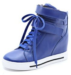 Marc by marc jacobs Strappy Hi Top Wedge Sneakers on shopstyle.com
