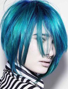 Crazy hair colour ideas for medium and short hair 35