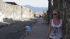 The streets of Pompei
