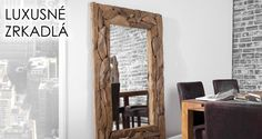 Meble do salonu, sypialni i jadalni, kuchnie na wymiar. Oversized Mirror, Furniture, Design, Home Decor, Shop, Accessories, Environment, Driftwood Mirror, Reclaimed Wood Frames