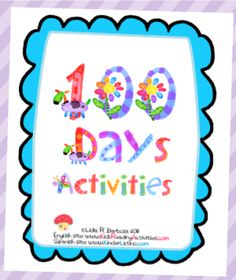 100+Days-+Activities+from+Kinder+Latino+on+TeachersNotebook.com+-++(20+pages)+