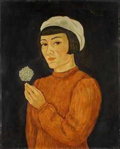 Frau mit Baskenmütze By Bruno Voigt ,1939