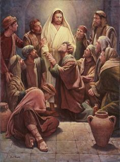 """""""Christ and the Apostles"""" Del Parson."""