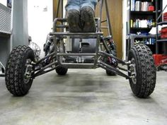 Suspension Travel testing of 2010 Hopkins Baja car - YouTube