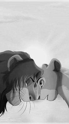 Simba y Nala Disney Wallpaper, Cartoon Wallpaper, Simba Und Nala, Summer Nails Neon, Lion King Pictures, Lion King Fan Art, Disney Background, Le Roi Lion, Disney Theme