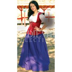 Fair Maiden Garb: Renaissance Costumes, Medieval Clothing, Madrigal Costume: The Tudor Shoppe Renaissance Fair Costume, Medieval Costume, Renaissance Clothing, Renaissance Era, Fancy Dress, Dress Up, Peasant Skirt, Clothes For Women, Medieval Swords