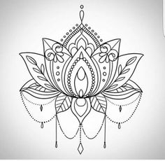 Sugestão loveeee mandala tattoo, tattoos и lotus mandala tat Mandala Tattoo Design, Lotus Mandala Tattoo, Tattoo Designs, Mandala Drawing, Lotus Mandala Design, Lotus Drawing, Designs Mehndi, Lotus Flower Mandala, Tattoo Ideas
