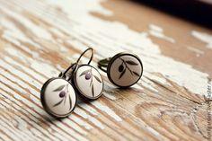 Купить Веточка оливы - винтажный стиль, изысканное украшение, подарок на любой случай, милое украшение