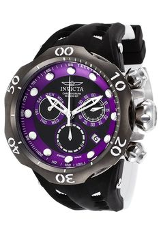 Invicta Hombre 16995 Venom Reloj Acero inoxidable Negro - mens and womens watches, latest watches online shopping, watch shop mens *ad Men's Watches, Mens Dress Watches, Sport Watches, Cool Watches, Latest Watches, Watches Online, Diesel Watches For Men, Automatic Watches For Men, Luxury Watches For Men