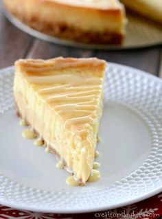 Dulche de Leche Cheesecake is a decadent dessert sure to impress your guests. #caramel #cheesecake #dulcedeleche #dulcedelechecheesecake #caramelcheesecake #creationsbykara Homemade Cheesecake, Caramel Cheesecake, Cheesecake Desserts, Dessert Sauces, Dessert Recipes, Dessert Ideas, Trifle Pudding, Homemade Cakes, Chocolate Recipes