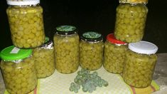 Jar Gifts, Kitchen Hacks, Pickles, Cucumber, Beans, Food And Drink, Cooking Recipes, Homemade, Canning