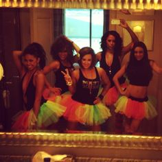 """Awesome Bachelorette theme in Vegas! """"Tutus and Tanks"""""""