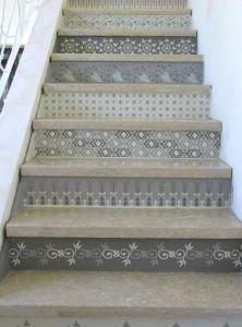 Stufen bekleben - wie cool!!