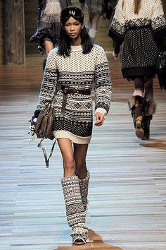 Trends; Fair Isle / Nordic knit pattern; 2011 F / W Fashion Trend: Naver blog