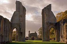 Final resting place of King Arthur ~ Glastonbury Abbey, Somerset, England