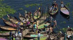 Bangladeş'in sandal taksileri Dünyanın en kalabalık şehirleri listesinde ilk 10'da yer alan Bangladeş'in başkenti Dakka'da ulaşımın ana araçlarından biri de tahta sandallar...