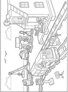 coloring page Lego Duplo - Lego Duplo