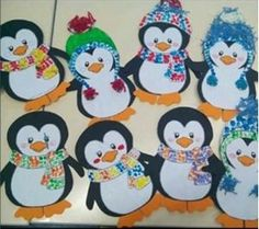 Penguin Crafts for Kids - Natural Beach Penguin Crafts for Kids, Penguin Activities for Kids, Penguin Crafts make a great winter kids craft, a preschool craft for home or a classroom and they Winter Crafts For Toddlers, Winter Kids, Winter Art, Winter Theme, Toddler Crafts, Preschool Crafts, Kids Crafts, Decoration Creche, January Crafts
