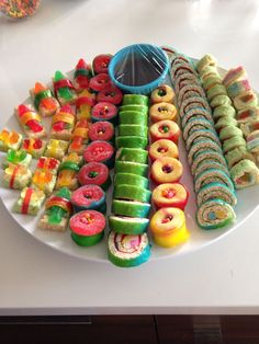 Candy Sushi...so worth the time and effort.