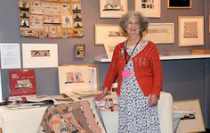 Janet Bolton. My hero! I loved her work before I even knew about or understood how to appliqué.