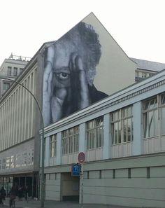 Artist: JR Artist City: Berlin-Mitte. #jr http://www.widewalls.ch/artist/jr/