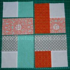 Woven Quilt Block Tutorial 2