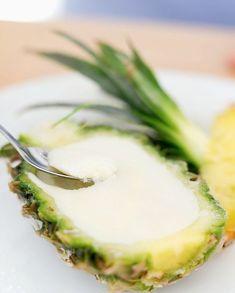 Glace ananas Thermomix pour 6 personnes - Recettes Elle à Table