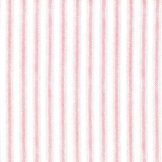 Cape Ann White Sunset Pink stripe Ticking by JeanniesFabrics, $10.50