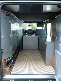 Land Rover Defender Blog: Photo - Looks like a high school locker room. WEH